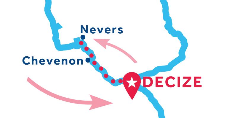 Decize RETURN via Nevers