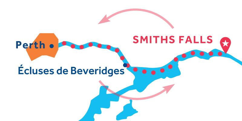 Smiths Falls RETURN via Perth