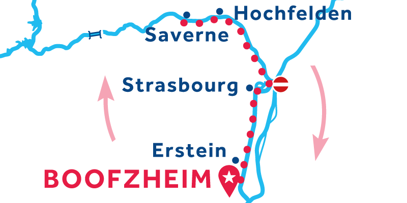 Boofzheim return via Saverne
