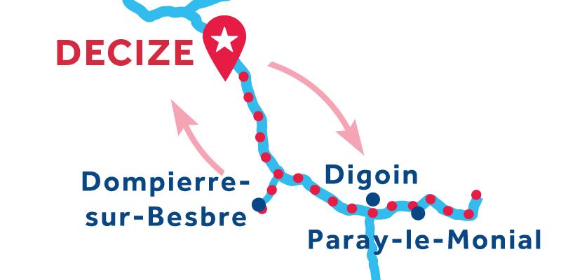 Decize RETURN via Paray-le-Monial