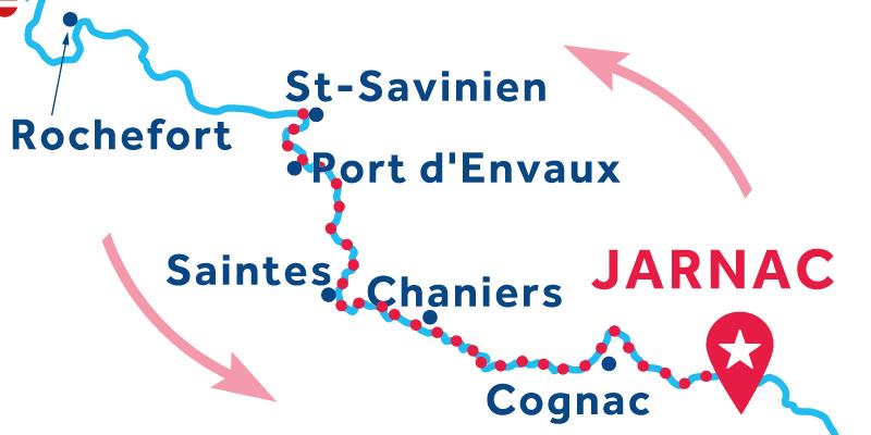 Jarnac RETURN via St-Savinien