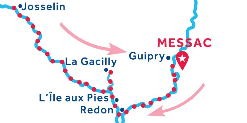 Messac RETURN via Josselin