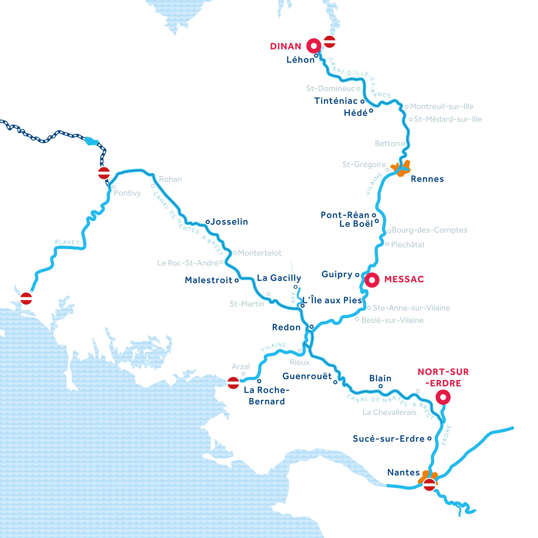 Carte: Bretagne