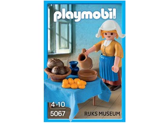 Playmobil de La Laitière de Johannes Vermeer au Rijksmuseum