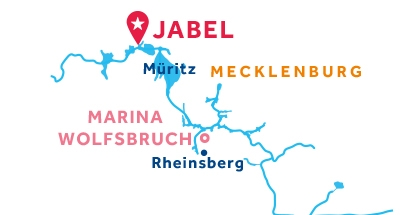 Carte de situation de la base de Jabel
