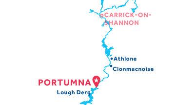 Portumna base location map