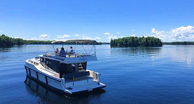 Explorez le Canal Rideau au Canada