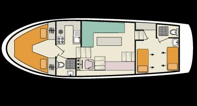 Braemore WHS - plan de cubierta