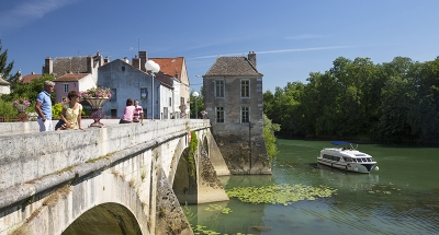 Bateau Vision en Bourgogne