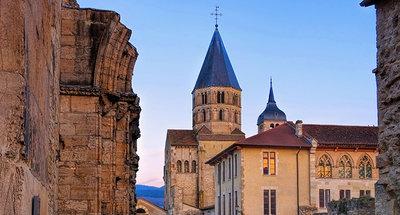Eglise romane à Tournus
