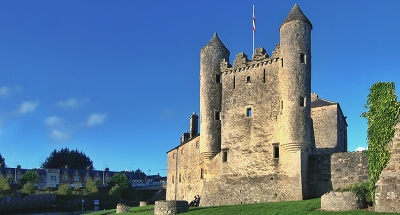 Le château Enniskillen en Irlande