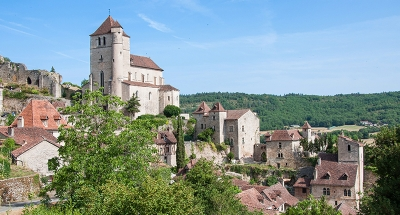 Saint-Cirq Lapopie, l'un des plus beaux villages de France