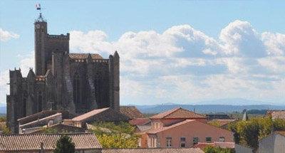 Église le long du Canal du Midi