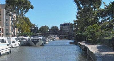 Le Vision sur le Canal du Midi