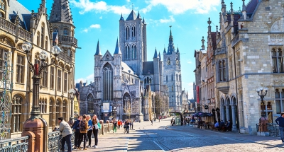 Les rues médiévales de Gand