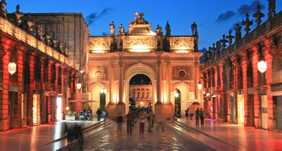 Place Stanislas de nuit, Nancy
