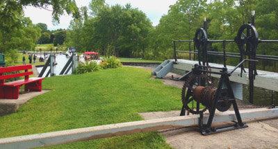 Écluse sur le Canal Rideau
