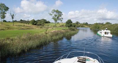 La rivière Shannon près de Carrick