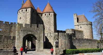 Feu d'artifice de Carcassonne