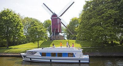 croisière fluviale en Belgique