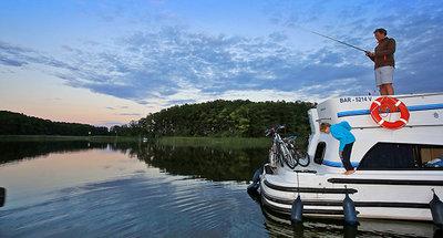 Pêche à bord de votre bateau