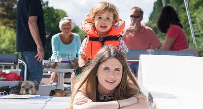 En famille sur le Canal Rideau