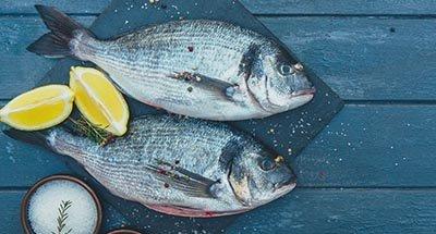 Plat à base de poisson