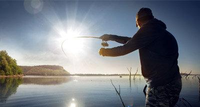 Pêche dans les lacs du Rideau