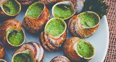 Escargots à l'ail