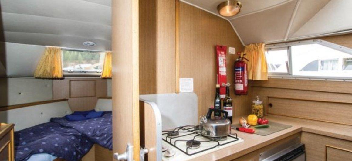 Braemore WHS - Cuisine et cabine avant