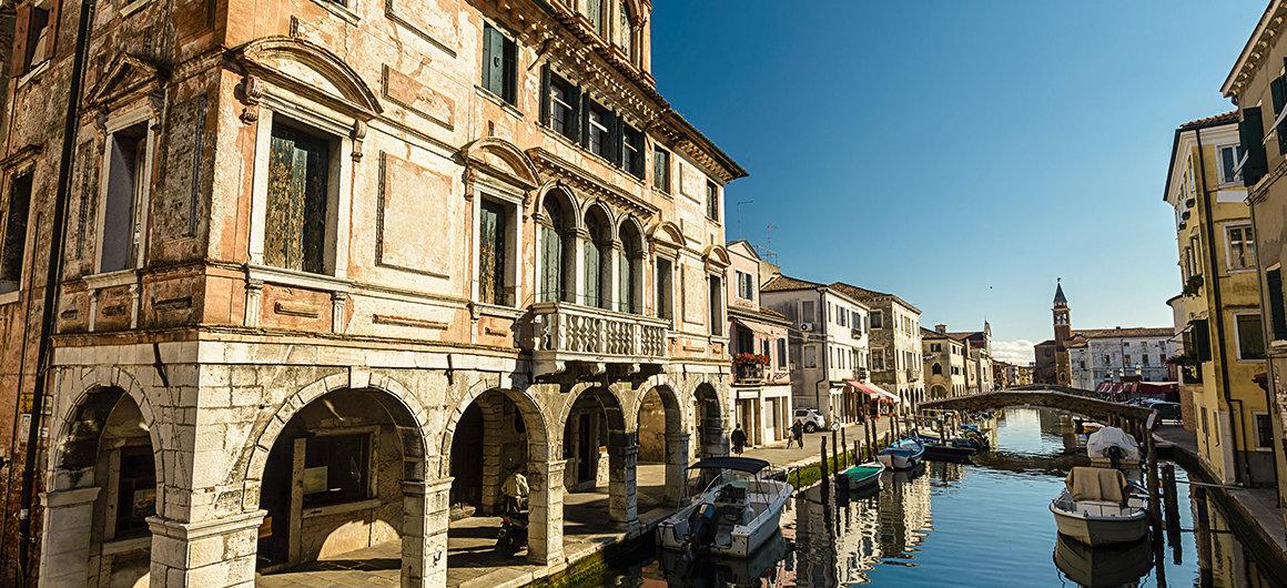 Ville côtière de Chioggia