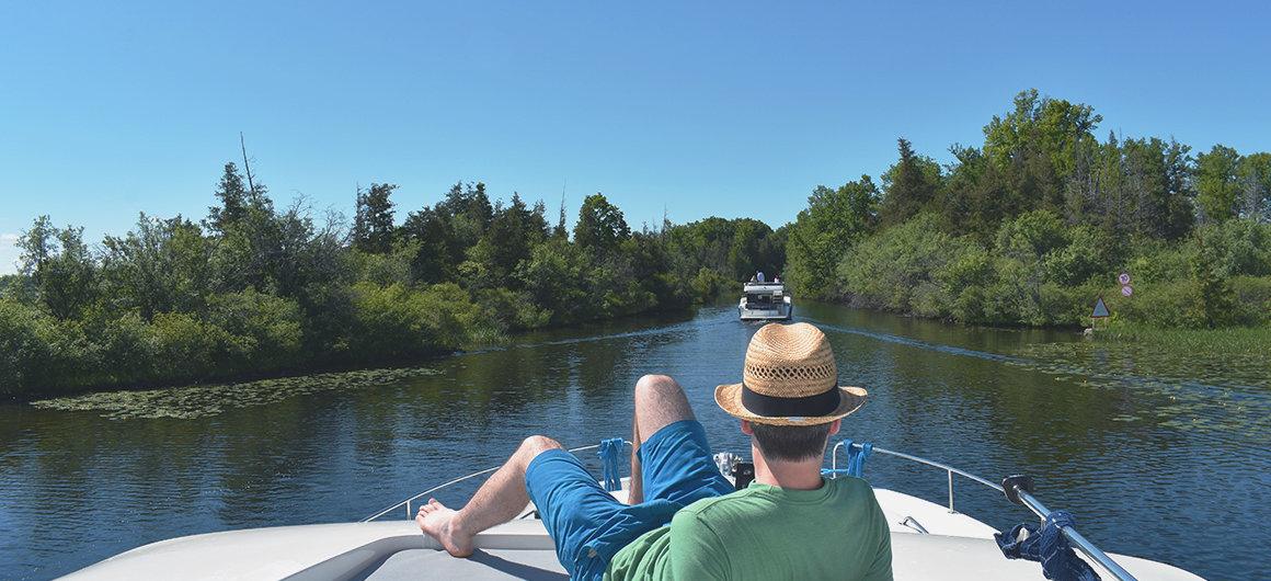 Lac à Jones Falls, Canada