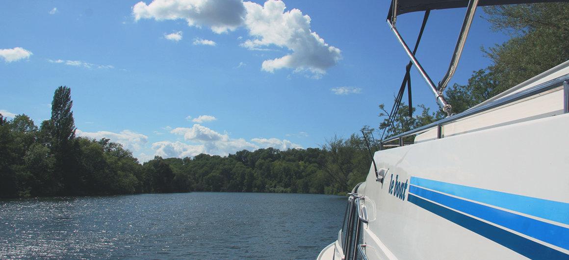 Le Boat dans le Lot