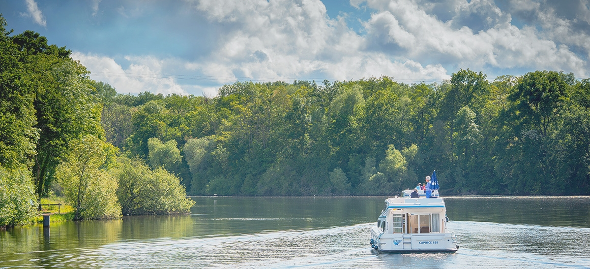 Navigation en Bourgogne