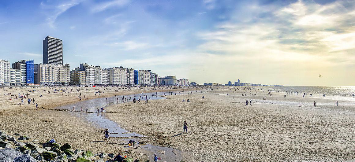 Plage à Ostende