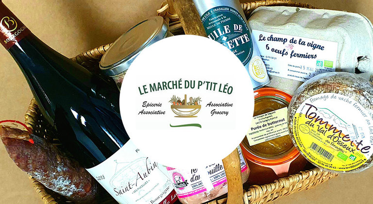 Le marché du P'tit Léo