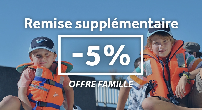 Offre famille -5%