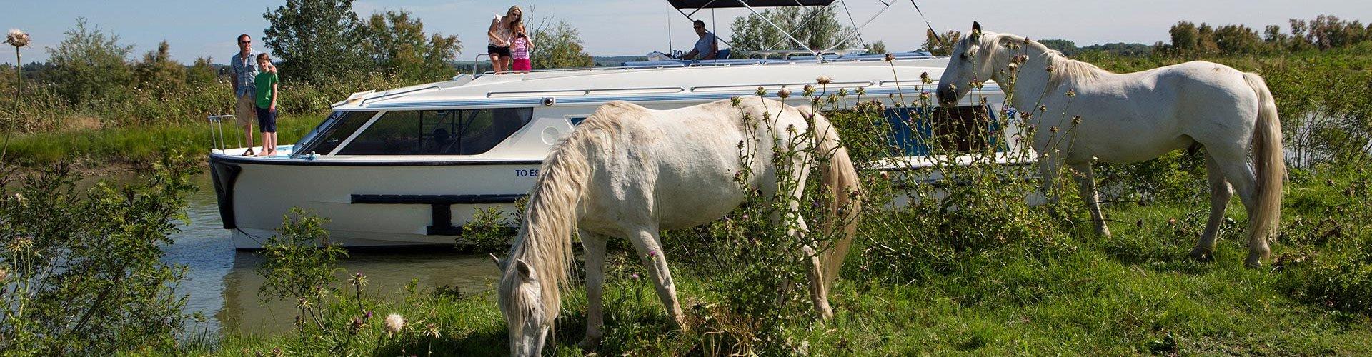 Vacances en bateau pour les amateurs d'équitation