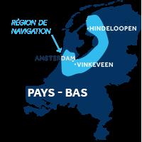 Zone de navigation aux Pays-Bas