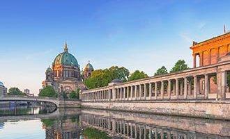 Berlin au crépuscule