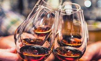 Les verres de Cognac