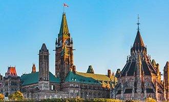 Parliament Hill à Ottawa