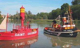 Port miniature de Saint-Savinien