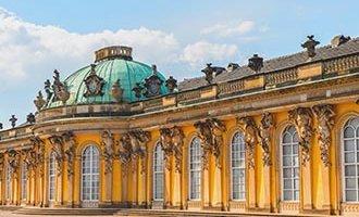 Château de Sanssouci à Postdam